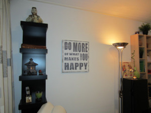 """Foto van """"do more of what makes you happy"""